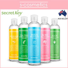 [SECRET KEY] Fresh Nature Toner 248ml Milk Witch Hazel Aloe Rose Tea Tree