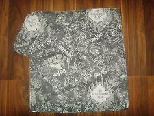DOLLS PRAM COVER & PILLOW IN HARRY POTTER MARAUDERS MAP  PRINT 39cm x  41cm