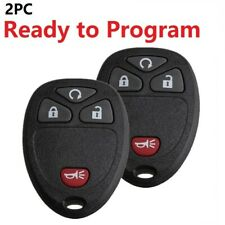 2 For 07 2008 2009 2010 2011 2012 2013 Chevy Silverado 1500 2500 Remote Key Fob