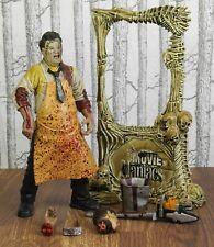 Mcfarlane Toys Movie Maniacs Texas Chainsaw Massacre Adult Figure w/ Stand