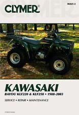 Kawasaki Bayou KLF220 and KLF250 88-03 Workshop Manual