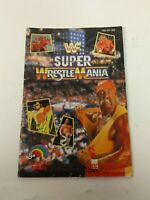 WWF SUPER WRESTLEMANIA (Super Nintendo SNES) ORIGINAL Manual no game
