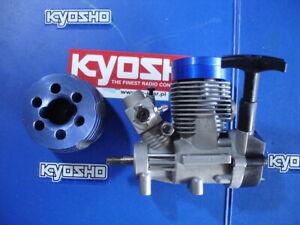 KYOSHO GXR 28 MARINE , nitro engine + car head