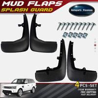 A-Premium 4x Splash Guard Mud Flaps For 06-13 Land Rover Range Rover Sport L320