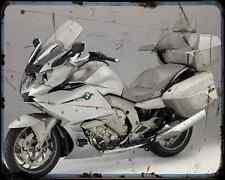 Bmw K1600 Gtl Exclusive 14 A4 Metal Sign Motorbike Vintage Aged
