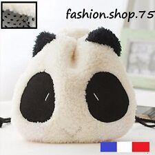 Sac de Rangement Trousse maquillage Forme Visage Panda