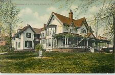 A View Of The Residence Of J.C. Young, Liberty, New York NY