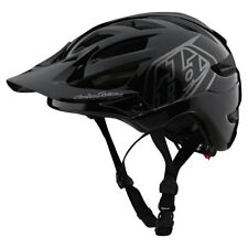 Troy Lee Designs Youth A1 Helmet Universal Youth Black/Silver