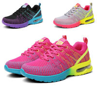 Women's Air Cushion Running Shoes Outdoor Athletic Jogging Walking Sneakers Gym