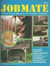 JOBMATE 63 DIY BALUSTRADE, OUTBUILDINGS, TAPS PAVING et