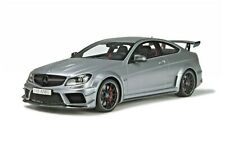 1/18 Mercedes-Benz C63 S AMG Black Series W204 GT731 GT Spirit RARE! Matt Silver