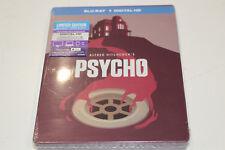 """New"" Psycho - Steelbook Bluray + Digital HD - Region A"