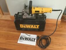 Nice Gently Owned Corded DEWALT DW682 Plate Joiner Biscuit Joiner