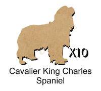 MDF Shape Dog 10 CAVALIER KING CHARLES SPANIEL MDF cutouts craft 5 SiZE DOGW099