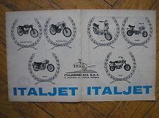 ITALJET MUSTANG GRIFON GO-GO SCOUT 1967 ADVERTISING PUBBLICITA REKLAME WERBUNG