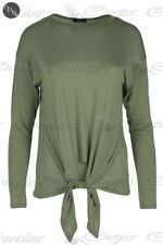 T-shirt, maglie e camicie da donna a manica lunga viscosi taglia S