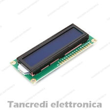 Display LCD 16x2 1602 con retroilluminazione blu blue arduino HD44780 modulo