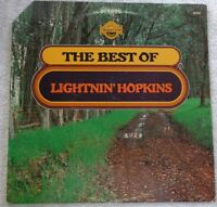 THE BEST OF LIGHTNIN' HOPKINS 1973 LP TRADITION TR 2056 VG+ VINYL BLUES