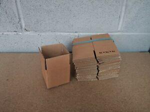 """20 x 3x3x3"""" cube single wall small cardboard postal box - 76x76x76mm"""