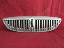 NOS OEM Lincoln LS Upper Radiator Grille 2002 Silver Birch Metallic