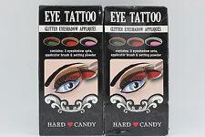 2x Hard Candy Eye Tattoo Glitter Eye Shadow Appliques - 124 Glitter (NEW)