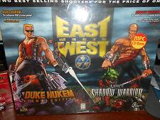 East Meets West (Duke Nukem 3D + Shadow Warrior) PC Games Big Box Unopened