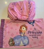 Details about  /5 pc Disney Junior Sofia The First Toddler Bed Set NIP