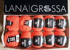 Lana Grossa, 10 Stück a 50 g ELASTICO BIG, Fb.014 orange