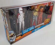 Star Wars Rebels Exclusive Hero Series Action Figures 6-Pack Heroes & Villains