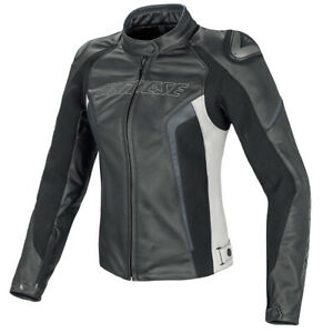 DAINESE RACING D1 PELLE WOMENS LEATHER JACKET