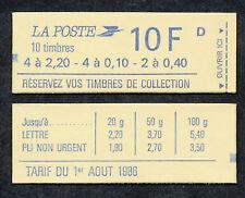 FRANCE - Carnet # 1501  / Liberté de Delacroix_Gandon / 10 TP Dentelés - 1985