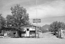 "1940 Tourist Camp Restaurant, Roosevelt, Arizona Old Photo 8.5"" x 11"" Reprint"