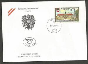 AUSTRIA - 1988 The 25th Anniversary of the Festival in Stockerau - F.D.COVER