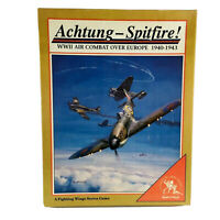 Clash of Arms Wargame Fighting Wings #2 - Achtung - Spitfire! UNPUNCHED VG