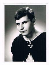 Original End 60's Verdun Maple Leafs M. Gelinas Photo