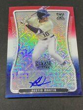 New ListingAustin Martin 2020 Leaf Metal Draft Baseball Auto 1/3 Rwb Blue Jays
