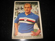 Figurina IL CALCIO ITALIANO STEF 1963/64  BERNASCONI  Sampdoria  serie 2 Pallini