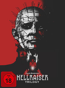 Hellraiser Trilogy - Collector's Edition im Digipak Blu-ray FSK18 *NEU*OVP*
