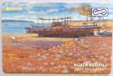 Malaysia Used Phone Cards - Kuala Kedah 2
