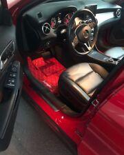 premium luxury set car floor mats for Mercedes GLA GLE AMG ML C- class supreme