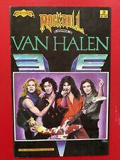 Rock N' Roll Comics #16 - VAN HALEN (Revolutionary Comics)