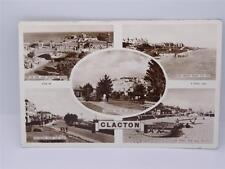 *VINTAGE CLACTON- THE PIER & VENETIAN BRIDGE, SEA FRONT, & ESPLANADE POSTCARD**