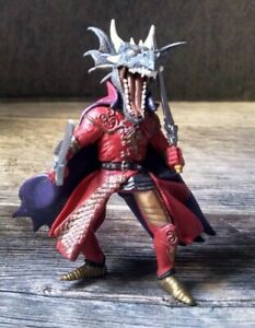 "2005 Papo #645 Dragon Head Medieval Knight Sword Fighter 4"" Action Figure"