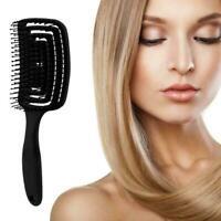 Detangling Hair Brush Massage Hair Comb Detangler Hairbrush Hair Women F X5F4