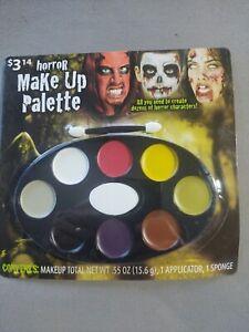 Horror Makeup Cream Palette Sticks Zombie Halloween Vampire kit