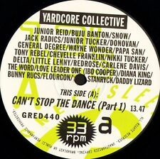 """YARDCORE COLLECTIVE can't stop the dance GRED 440 greensleeves 1994 12"""" CS EX/EX"""