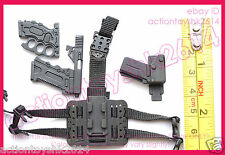 1/6 Scale Hot Toys MMS199 G.I. Joe Roadblock - pistol w/Holster #1