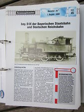 Dampflok ArchivP45: bay. S IX Bayr. Staatsbahn BR 70.71 DR