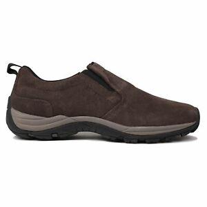 Karrimor Mens Moc Walking Shoe Slip On Trekking Hiking Trainers Dyna Sole