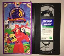 Where on Earth is Carmen Sandiego - Dinosaur Delirum / By A Whisker (VHS, 1995)